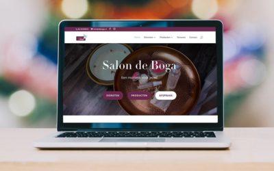 Nieuwe website voor Salon de Boga