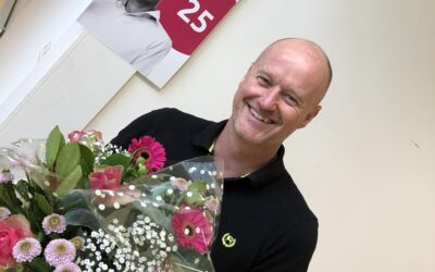 Gerry 25 jaar bij Venhuis